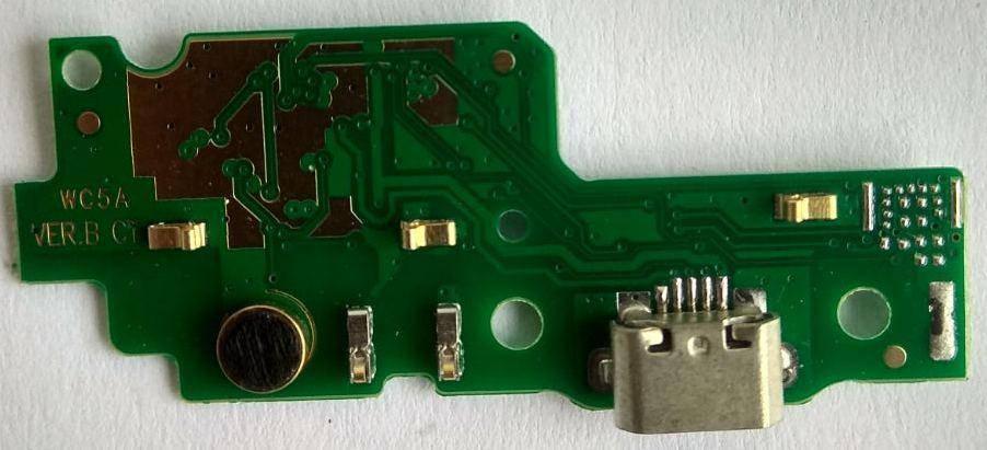 Нижняя плата Huawei Y6 II с коннектором зарядки, фото 2
