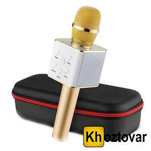 Бездротовий мікрофон-караоке з чохлом Bluetooth Q7 MS