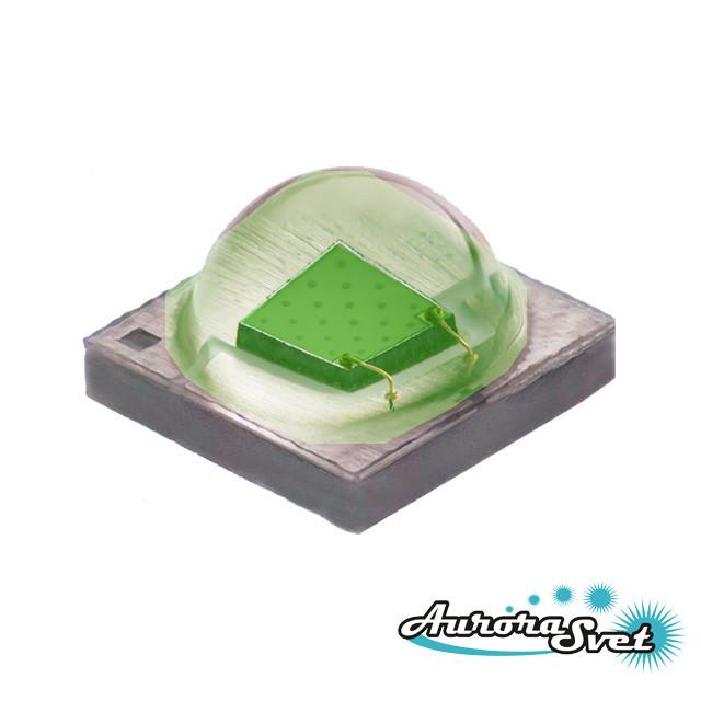 Светодиод Cree XLamp XPE. Светодиод на алюминиевой плате. Светодиод XPEBRD-L1-0000-00E01.Зеленый светодиод