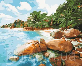 Картина за номерами ArtStory Райське місце 40 х 50 см (арт. AS0542)
