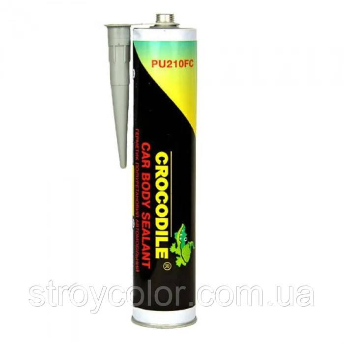 Герметик черный полиуретановый Crocodile PU 210FC 310 мл (Крокодил)