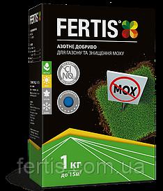 Азотне добриво для газону та знищення моху Fertis, без нітратів, 1 кг