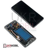 Дисплей Samsung G960 Galaxy S9, с тачскрином, рамкою, Original PRC, Black