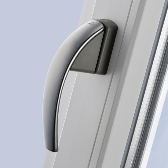 Ручка віконна ROTO SWING срібляста