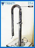Дистиллятор 25л 5-6л/час Аппарат колонного типа бытовой для дома, бражная коллона из нержавейки