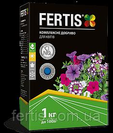 Добриво для квітів Fertis, без хлору та нітратів,1 кг