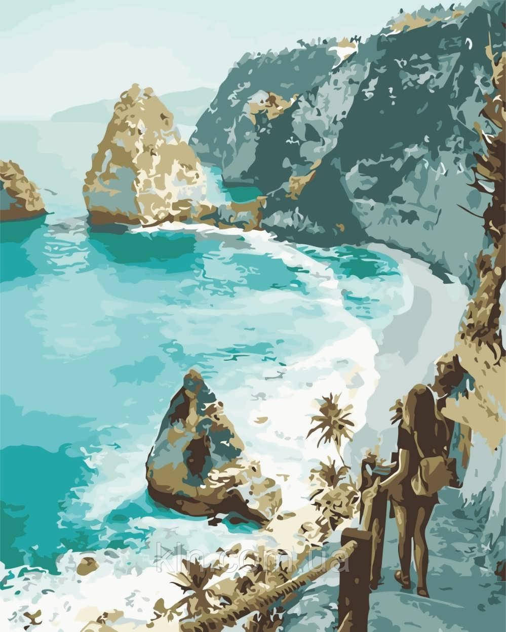 Картина по номерам ArtStory Мечты об океане 40 х 50 см (арт. AS0645)