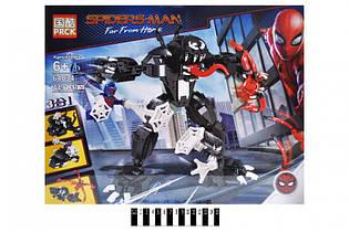 Конструктор Marvel Heroes Человек-паук против Венома 64034 Супер герои