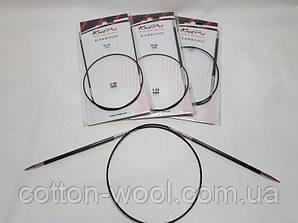 Спиці кругові 60 см Karbonz KnitPro (Карбон КнітПро)  2,0 мм