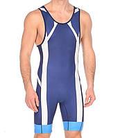 Трико борцовское Asics Wrestling Suit (2081A021-0050) Navy