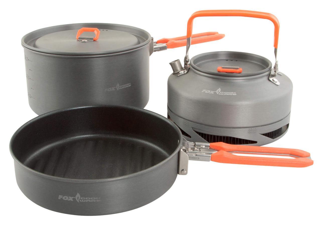 Fox Cookware set - Набір посуду для готування з 3-х предметів