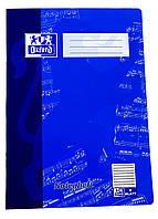 M18-470845, Тетрадь А4 для нот, , синий-темно синий