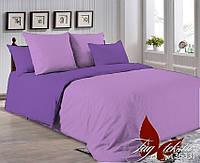 Комплект постельного белья полуторный P-3520(3633) ТМ TAG 1,5-спальный, постельное белье полуторка