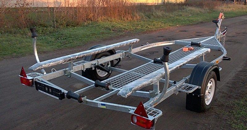 Прицеп для перевозки лодок Finval 470 - 505 (комп-я 01)