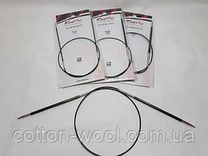 Спиці кругові 60 см Karbonz KnitPro (Карбон КнітПро)  3.25 мм