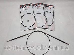 Спиці кругові 60 см Karbonz KnitPro (Карбон КнітПро)  4.5 мм