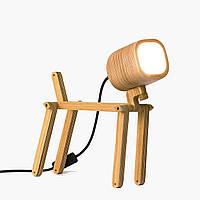 Лампа-конструктор з дерев'яною фурнітурою FLAMPIC Basic+