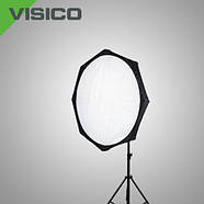120см Софтбокс октобокс Visico FB-080 Beauty Dish, Bowens, фото 3