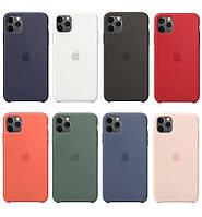 Чехол Silicone Case Iphone 11 Pro Max (Оригинальный чехол для Айфон 11 Про Макс)