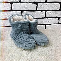 Домашние тапочки ботинки женские