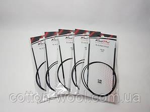 Спиці кругові 80 см Karbonz KnitPro (Карбон КнітПро) 2,5 мм
