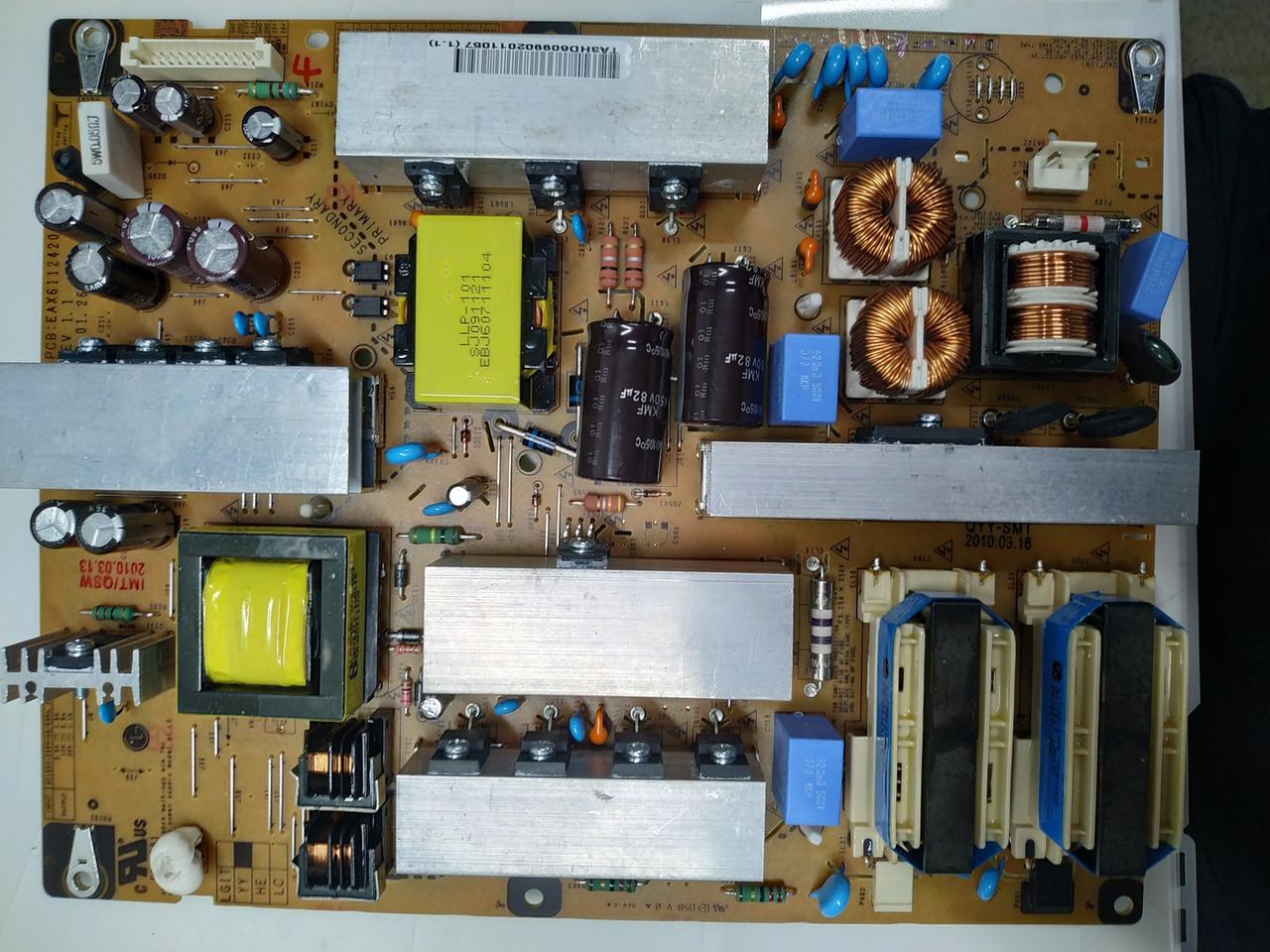 Блок питания LGP37-10LFI EAX61124202/2 3PAGC10011B-R к телевизору LG 42LD420