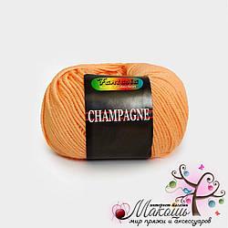 Пряжа Сеам Шампань, №71, персик