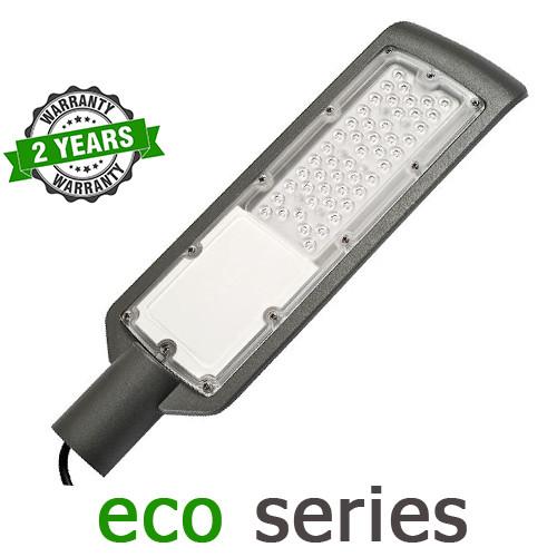 Консольный уличный светильник LED 50W 6000-6500К SMD серия ECO