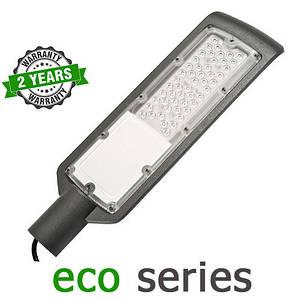 Консольний вуличний світильник LED 50W 6000-6500К SMD серія ECO
