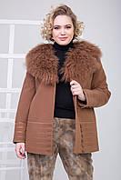 Пальто 1-048 Корица