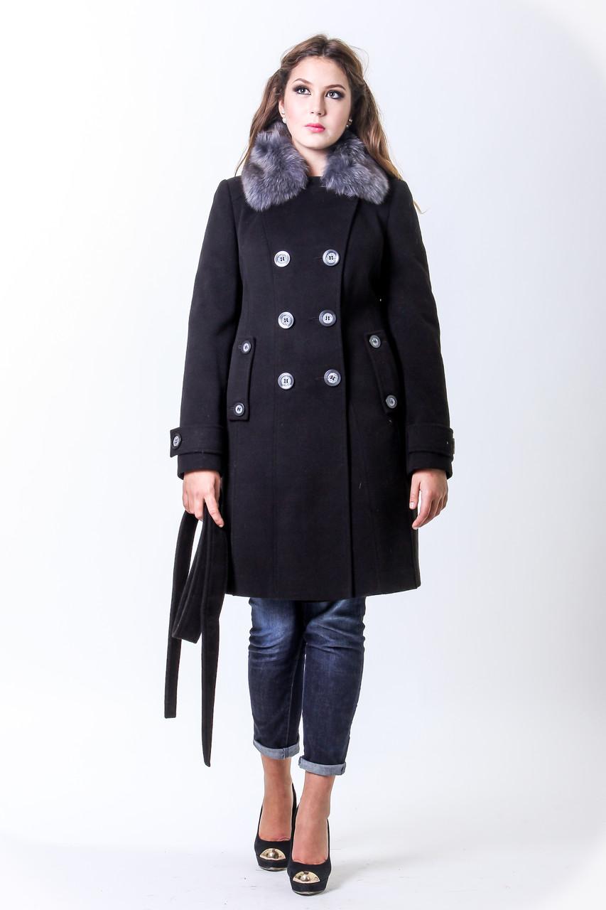 Пальто 10-24 Черный