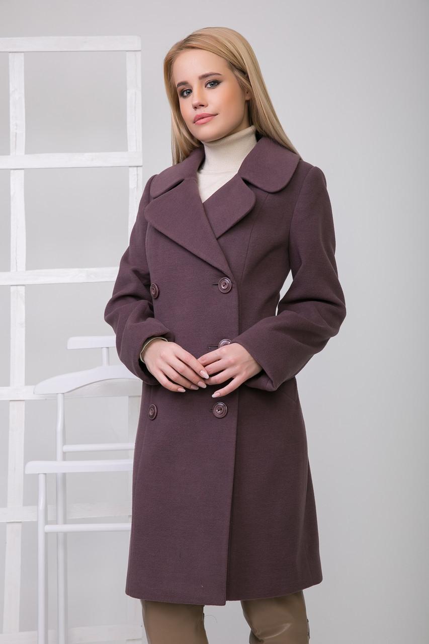 Пальто 2-157 Черный жемчуг