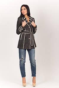 Пальто 2-245 Черный