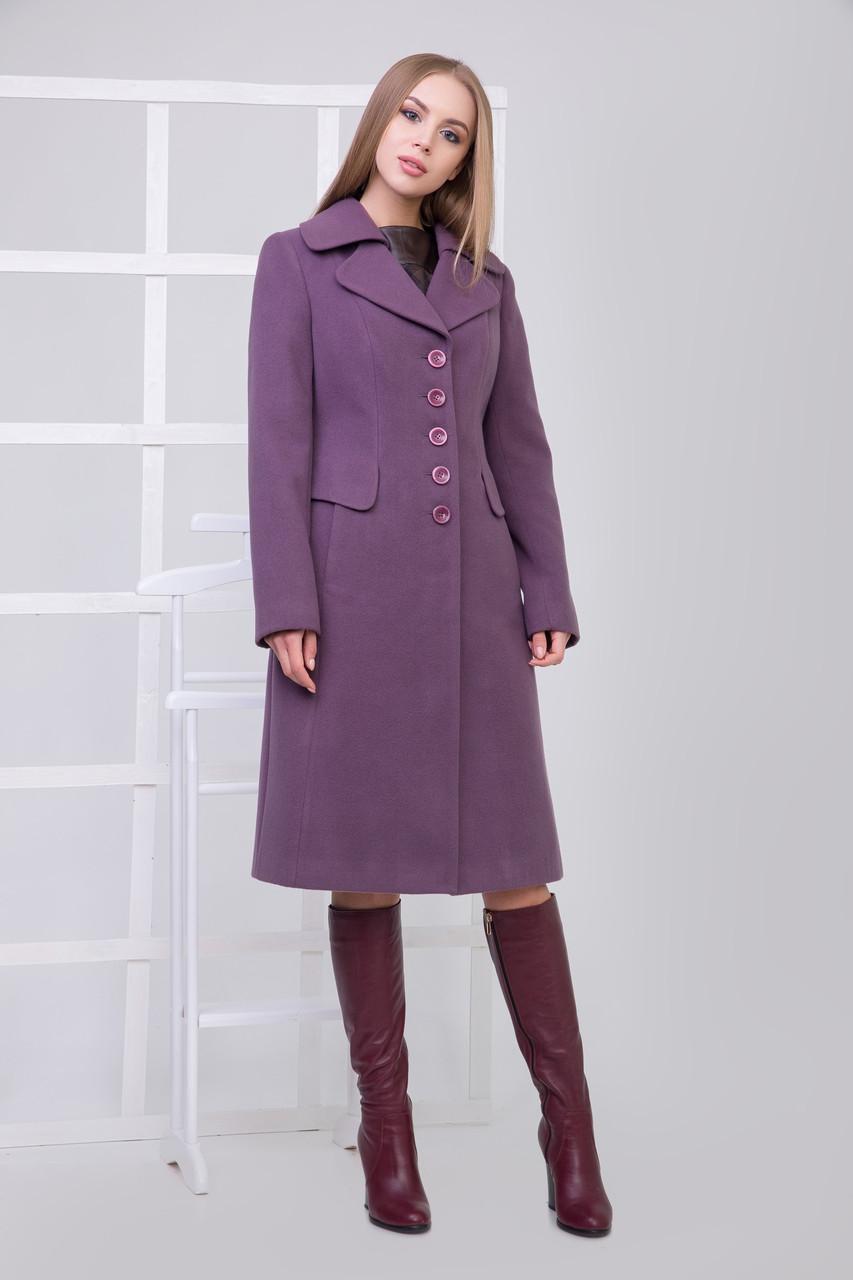 Пальто 2-119 Фиолетовый