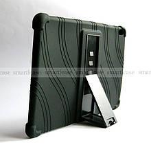 Черный противоударный силиконовый чехол бампер Lenovo Tab M10 (TB-X505L Tb-X505F TB-X605L/F)