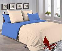 Комплект постельного белья полуторный P-0807(4037) ТМ TAG 1,5-спальный, постельное белье полуторка