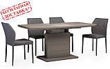 Стол TMM-50-2 серый 110/150х70 (бесплатная доставка), фото 2