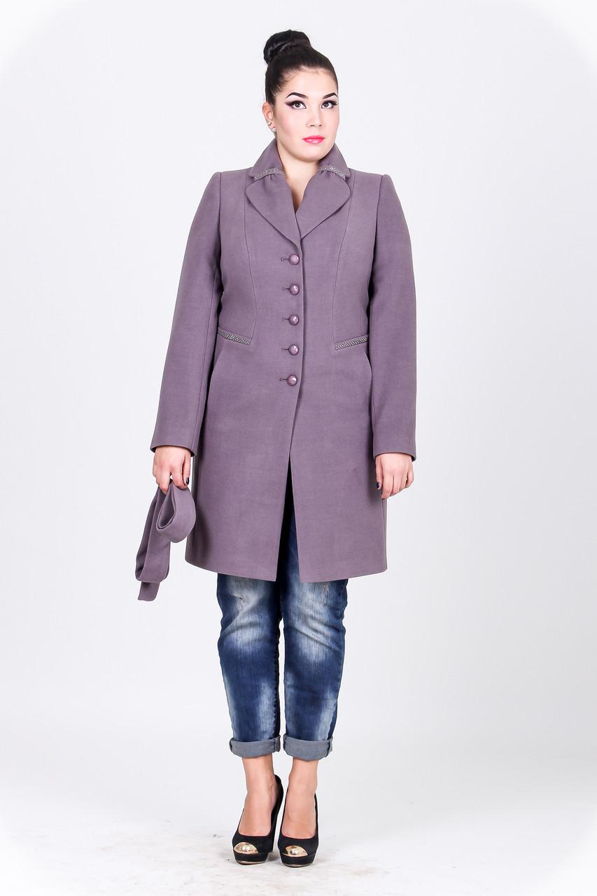 Пальто 2-324 Черный жемчуг