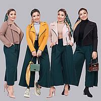 Женский стильный костюм двойка (короткий пиджак и кюлоты) /разные цвета, 42-62, ST-56967/
