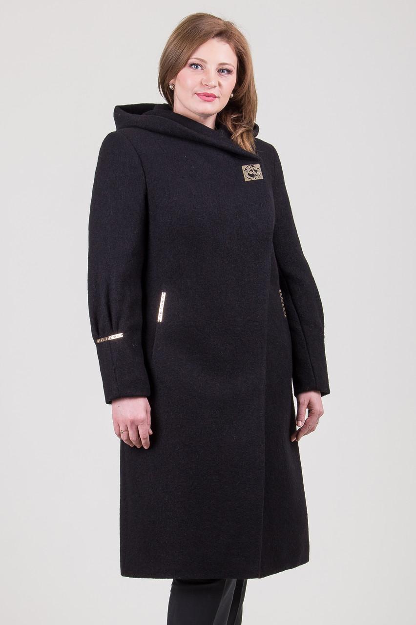 Пальто 2-353Ш Черный