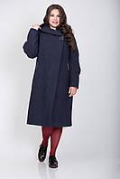 Пальто 2-353Ш Сине-фиолетовый