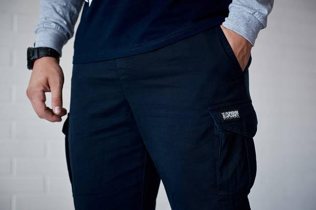 БРЮКИ CARGO NVY, удобные, качественные брюки, фото 2