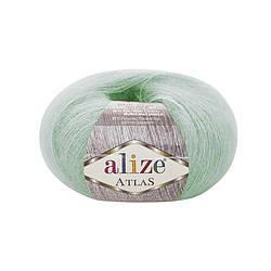 Пряжа Alize Atlas Атлас, №19, водяная зелень