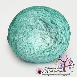 Пряжа Alize Softy Plus Ombre Batik, №7286, мята