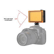 10,5x8,8x3,5см Накамерне світлодіодний світло - панель Puluz PU4096 Led, фото 3