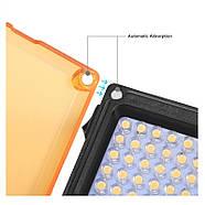 10,5x8,8x3,5см Накамерне світлодіодний світло - панель Puluz PU40112 Led, фото 9
