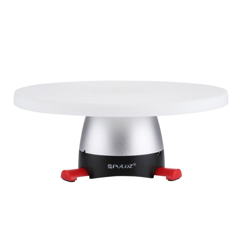 Поворотный 3d стол для предметной съёмки (фотосъемки / видеосъемки), панорамный Puluz PU364R (red)