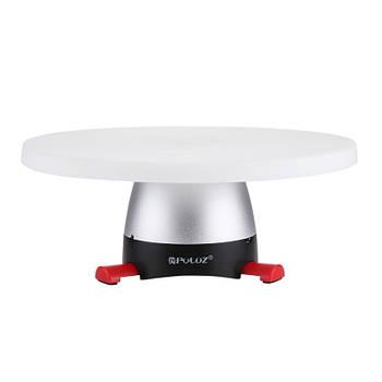 Ø18см/max-1кг Поворотный 3d стол для предметной съёмки фото / видеосъемки), Puluz PU364R (red)