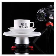 Поворотный 3d стол для предметной съёмки (фотосъемки / видеосъемки), панорамный Puluz PU364R (red), фото 6