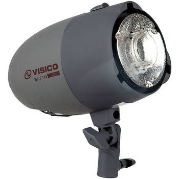 400Дж Студійний спалах Visico VL-400 Plus, Bowens